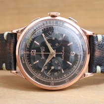 Eberhard & Co. Extra-Fort Rose Gold 18kt Black Restored Dial
