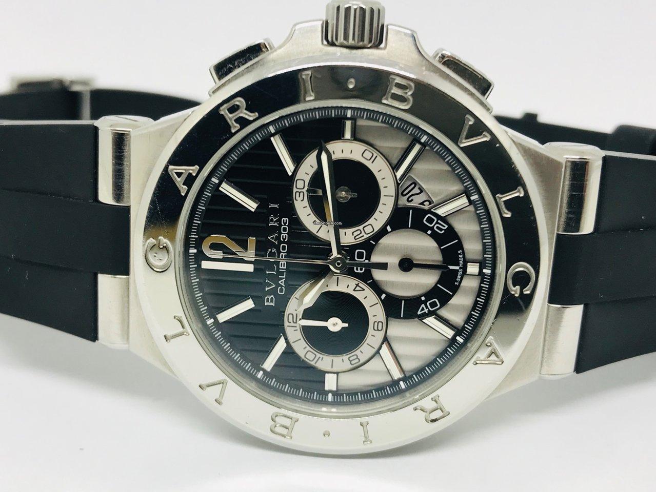 e3e8ae784817 Bulgari Diagono Chronograph Calibre 303 for  4,138 for sale from a Trusted  Seller on Chrono24