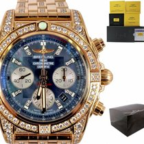 Breitling Chronomat 44 Rose gold 44mm Blue