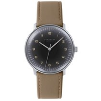 Junghans 027/3401.00 Steel 2018 max bill Automatic new