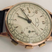 Election Red gold 38mm Manual winding valjoux 71 pre-owned