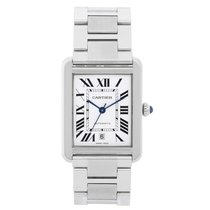 Cartier W5200028 Steel Tank Solo 31mm pre-owned United States of America, Texas, Dallas