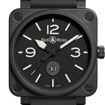 Bell & Ross BR 01-92 Ceramica 46mm Negru Arabic