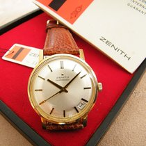 Zenith Yellow gold 34mm Automatic Cal 2542PC pre-owned