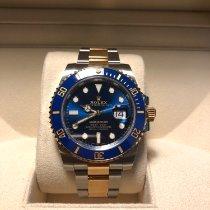 Rolex Submariner Date Gold/Steel 40mm Blue No numerals Australia
