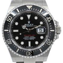 Rolex Sea-Dweller Ocel 43mm Černá Bez čísel