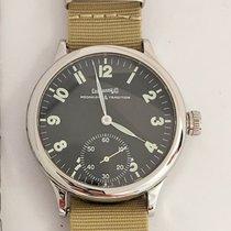Eberhard & Co. Traversetolo Steel 43 mmmm Black Arabic numerals