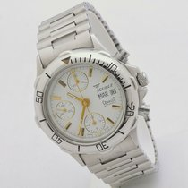 Squale Steel Automatic White No numerals 38mm pre-owned