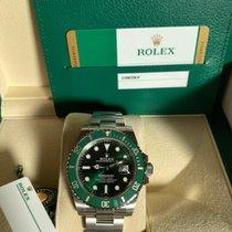 Rolex Submariner Date 116610LV Unworn Steel 40mm Automatic