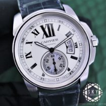 Cartier Calibre de Cartier 3389 Very good Steel 42mm Automatic