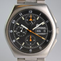 Tutima Military 798-02 God Stål 43mm Automatisk