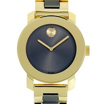 Movado Bold Staal 36mm Grijs