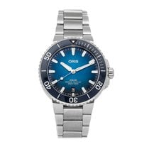 Oris Aquis Date Steel 39.5mm No numerals United States of America, Pennsylvania, Bala Cynwyd