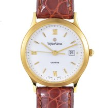 Wyler Vetta Men's Gold Plated Stainless Steel Quartz Watch...