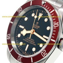 Tudor HERITAGE BLACK BAY Red Stainless Steel Automatic...