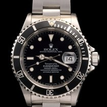 Rolex Submariner ref 16610  Tiffany & co dial with Rolex Service
