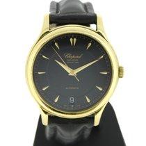 Chopard L.U.C Žluté zlato 36mm Černá