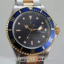 Rolex Submariner Date Or et Acier Full Tritium 16613 Full Set