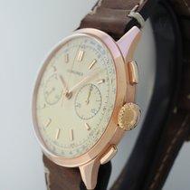 Longines Chronograph CH30 Vintage 1963 -Roségold 18k/750