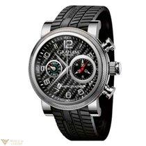 Graham Mercedes GP Trackmaster Stainless Steel Men's Watch