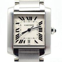 Cartier Tank Française Automatic W51002Q3, Box & Papers