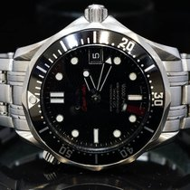 Omega 2009 36mm Seamaster 300 M, Co-Axial, MINT, Box & Papers