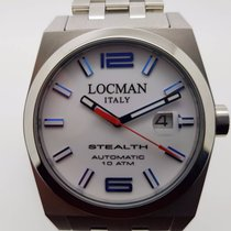 Locman MEN'S STEALTH STAINLESS STEEL AUTOMATIC WATCH REF 205