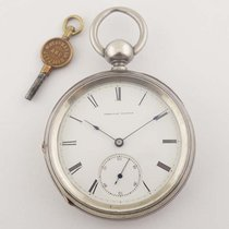 Waltham Model 1868 Keywind Coin Silver Case
