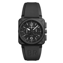 Bell & Ross Aviation Automatic Chronograph Mens Watch...