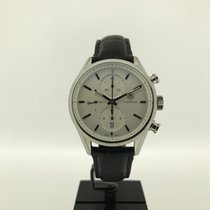 TAG Heuer Carrera Calibre 1887 Steel 41mm Silver No numerals