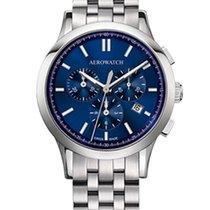 Aerowatch Les Grandes Classiques Steel 40,00mm Blue