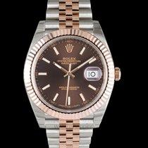 Rolex Datejust II Rose gold 41mm Brown United States of America, California, San Mateo