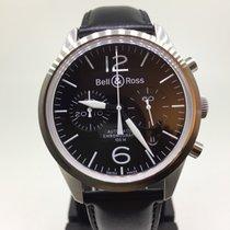 Bell & Ross Vintage nou Atomat Cronograf Ceas cu cutie originală și documente originale