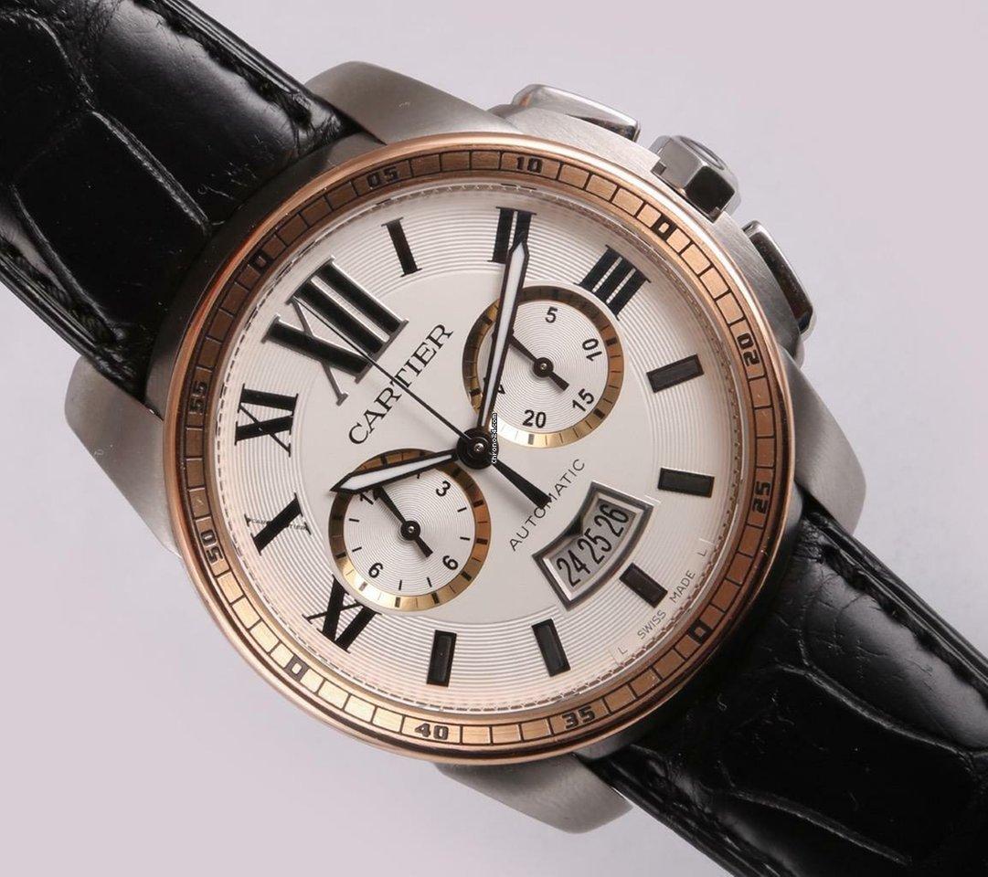 Cartier Calibre de Cartier Chronograph W7100043 pre-owned