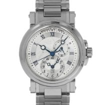 Breguet Marine Steel 42mm Silver Roman numerals United States of America, Maryland, Baltimore, MD