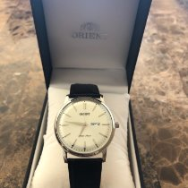 Orient Steel 43mm Quartz EMAM63 new