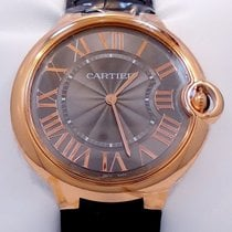 Cartier Ballon Bleu 40mm Or rose 40mm Gris Romains