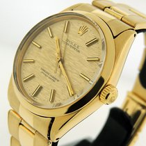 Rolex Oyster Perpetual 34 Yellow gold 34mm Gold