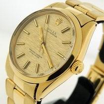 Rolex Oyster Perpetual 34 Κίτρινο χρυσό 34mm Χρυσό