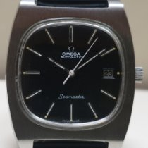 Omega 166.0191 Steel 1974 Seamaster 36mm pre-owned