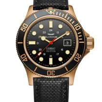 Glycine Combat SUB Bronze 42mm Black