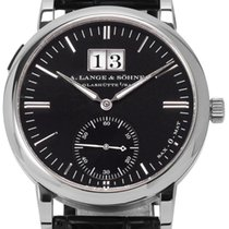 A. Lange & Söhne White gold Automatic 37mm pre-owned Langematik