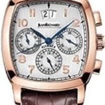 JeanRichard Rose gold Automatic White Roman numerals 38.8mm pre-owned