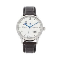 Glashütte Original Senator Excellence Steel 40mm Silver Roman numerals United States of America, Pennsylvania, Bala Cynwyd