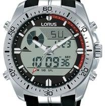 Lorus Stahl 46mm Quarz R2B07AX9 neu