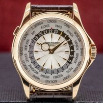 Patek Philippe World Time Rose gold 39mm Champagne