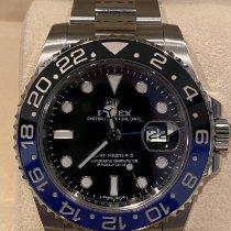 Rolex Ceramic Automatic Black No numerals 40mm pre-owned GMT-Master II