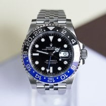 Rolex GMT-Master II Steel 40mm Black No numerals United Kingdom, London