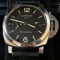 Panerai Luminor 1950 3 Days GMT Automatic Steel 42mm Black Arabic numerals