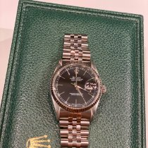 Rolex Datejust Stål 36mm Sølv Danmark, odense m